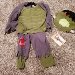 NWT Frankenstein Halloween Costume Boy's 4T
